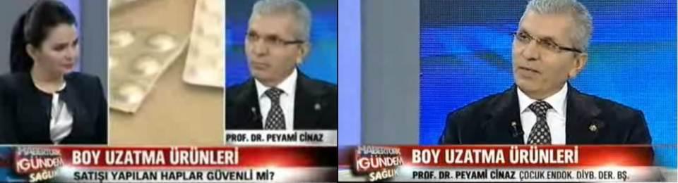 Prof. Dr. CİNAZ Haber Türk Televizyonu Gündem Sağlık Programına Katıldı